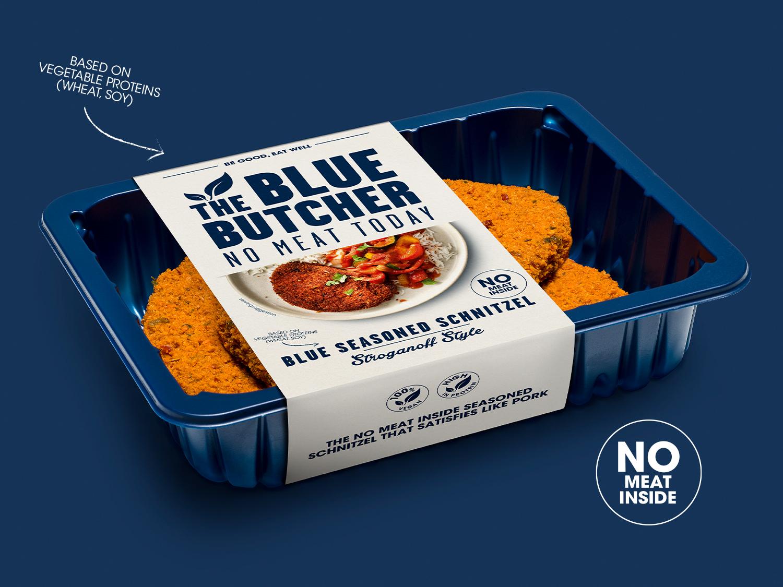 Blue Seasoned Schnitzel